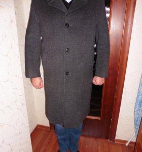 Пальто мужское осеннее, р.54, рост 175-180см, б/у