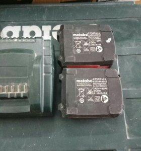 Аккумуляторы и зарядное устройство для шуруповёрта