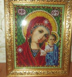 Икона Пресвятая Богородица Казанская.
