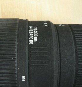 Объектив Sigma 70-300mm f/4-5.6 DG Macro Canon