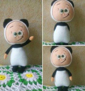 Милашка Бонни в костюме панды