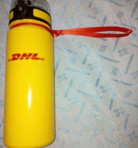 Новая бутылка спортивная DHL