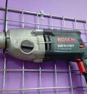 Ударная дрель-шуруповерт Bosch GSB 21-2 RCT