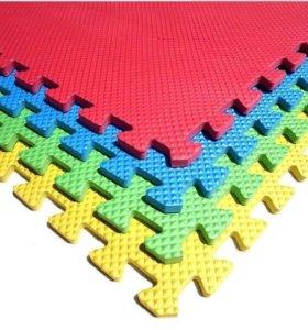 Мягкий пол (коврик-пазл)