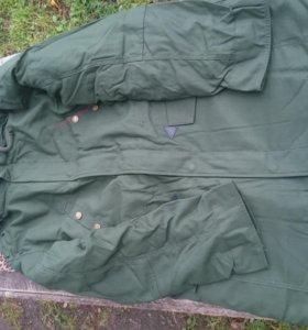 Куртка демисизонная защитного цвета для в/с