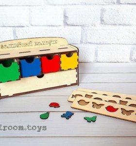 Игрушка деревянная Волшебный комодик