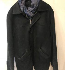 Куртка мужская кожаная (нубук)