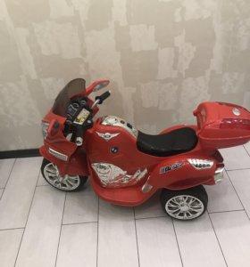 Мотоцикл на аккумуляторе,👍🏻✅состояние отличное!