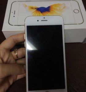 Продам iPhone 6s gold