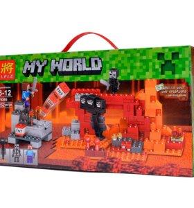 """Конструктор """"Иссушитель"""" аналог LEGO 21126"""
