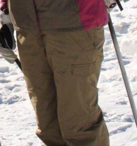 лыжный костюм orange