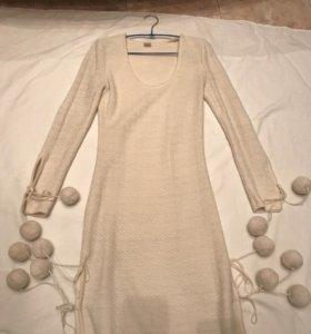 Платье женское из натуральной шерсти р42-44