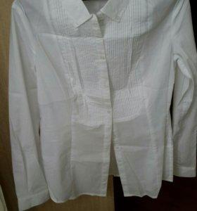 Блузка новая белая, м