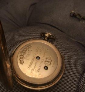 Часы карманные золотые