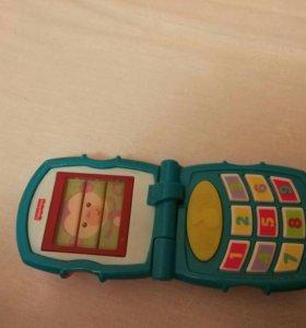 Телефон раскладной fisher price