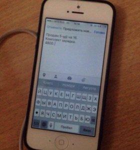 iPhone 5, 16 gb.