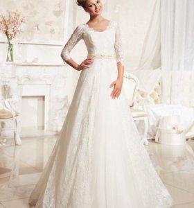 Свадебное платье Эоланта (Ева Уткина) + Шубка