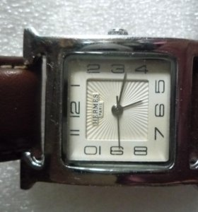 Женские часы Hermes + ремень