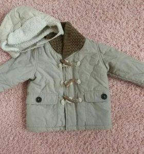 Куртка Zara baby(утепленная)