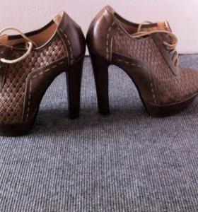 Ботинки -ботильены