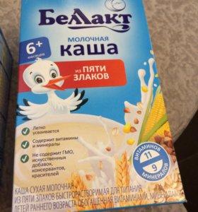 Каша молочная из пяти злаков