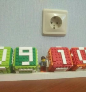 Лего календарь