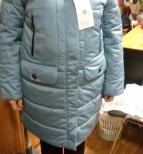 Куртка-пальто зима.