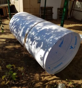 Поликарбонат белый 7 метров 6мм толщина