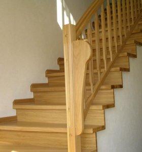 Ступень деревянная сорт А 40х300х1 метр
