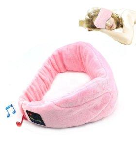 Bluetooth наушники,маска для глаз,колонка акустика