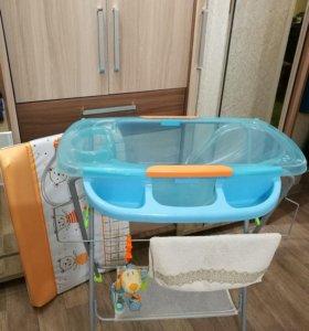 Пеленальный столик и ванночка 2в1 Seca baby bath