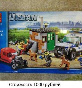 Конструктор lego city (bela urban)