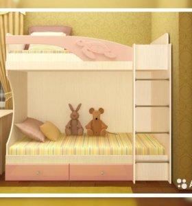 Тхм 2-х ярусная кровать