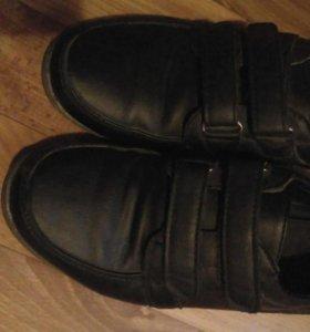 Туфли школьные на мальчика( ботинки)