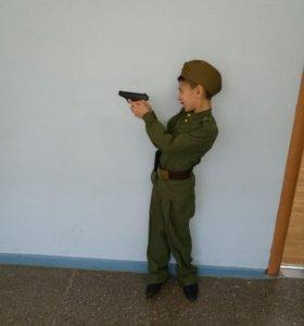 Новогодний костюм советского солдата