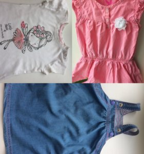 Сарафан, туника, футболка, 86