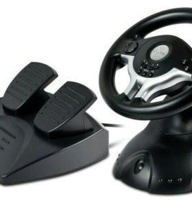 Игровой руль oklick mini w5