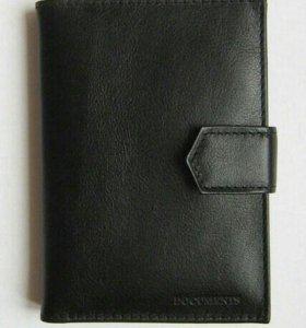 Бумажник водителя из натуральной кожи от Spark