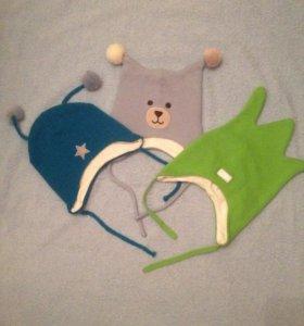 Детские 3 шапочки за 500 рублей