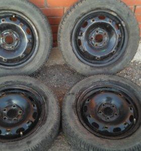 Колеса, диски volkswagen polo (фольксваген поло)