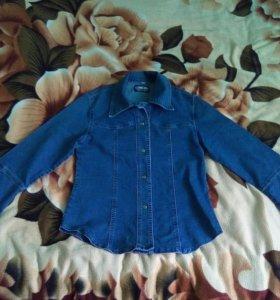 Рубашка джинсовая!