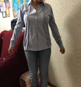 Кофта  с рубашкой для беременных, новая, 46-48 р.
