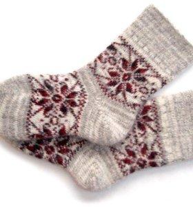Носки женские вязанные