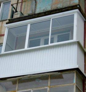 Балконы/лоджии, отделка.