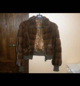 куртка шуба норковая