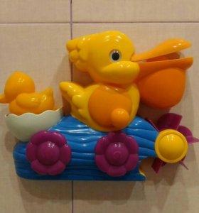 Игрушка для ванной пеликан silverlit