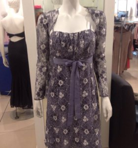Платье из тонкого нежного гипюра