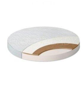 Матрас для круглой детской кроватки