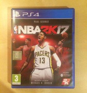 NBA 2k17 на PS4 (симулятор баскетбола)
