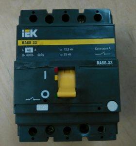 Автомат (разъеденитель 3-х фазный.)